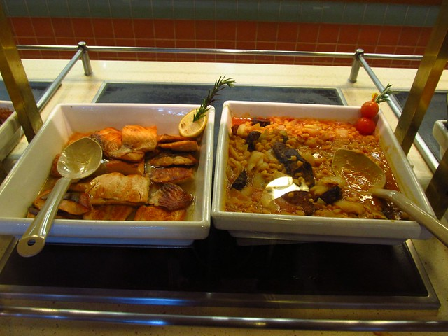 Question About Lunch Buffets Caribbean Princess Cruise
