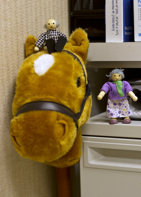 horses and dentists
