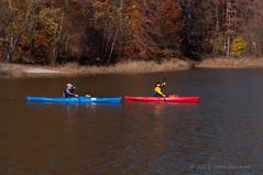 Kayaking at Lake Crabtree