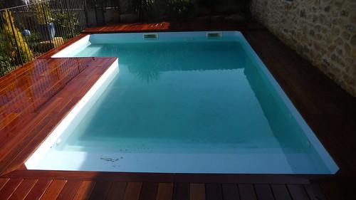 Deck piscine for Construire deck piscine