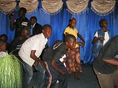 children praising at Bethseda Worship Centre, Nairobi