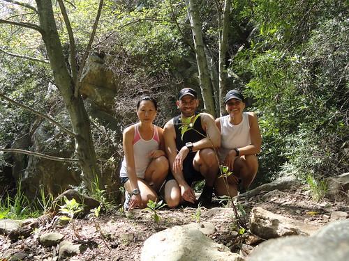 the three mountain running superstars