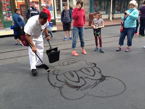 Street Art in Magic Kingdom