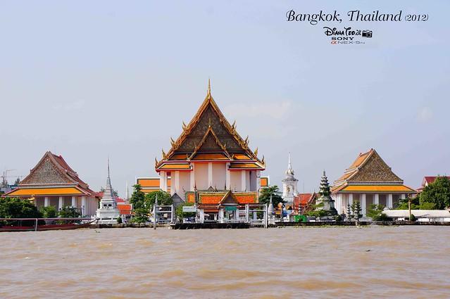 Day 3 Bangkok, Thailand - Chao Phraya River Cruise 01