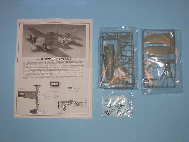 Academy 1/72 Grumman F4F-4, NOT the old Frog mold