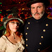 Cerise and Darren at the Edwardian Ball 2011 by mr. nightshade