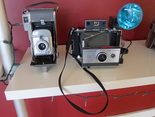 Polaroid Cameras at Instagram HQ