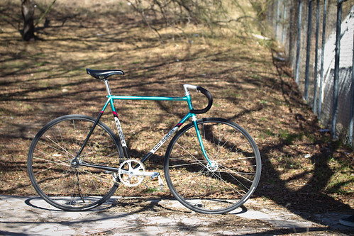 Beautiful Bicycle: Chris' Eddy Merckx Corsa Extra Pista