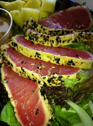 Ahi Salad @ Vineyard Food Co