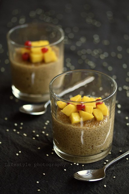 Vegan quinoa pudding with mango | Flickr - Photo Sharing!