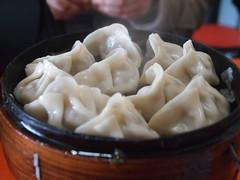 shumai(0.0), dim sum food(1.0), nikuman(1.0), mongolian food(1.0), cha siu bao(1.0), xiaolongbao(1.0), mandu(1.0), baozi(1.0), momo(1.0), wonton(1.0), pelmeni(1.0), food(1.0), dish(1.0), dumpling(1.0), jiaozi(1.0), buuz(1.0), khinkali(1.0), cuisine(1.0),