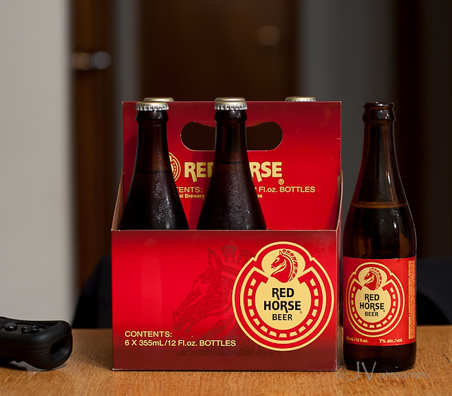 Red Horse Beer Birthday Cake