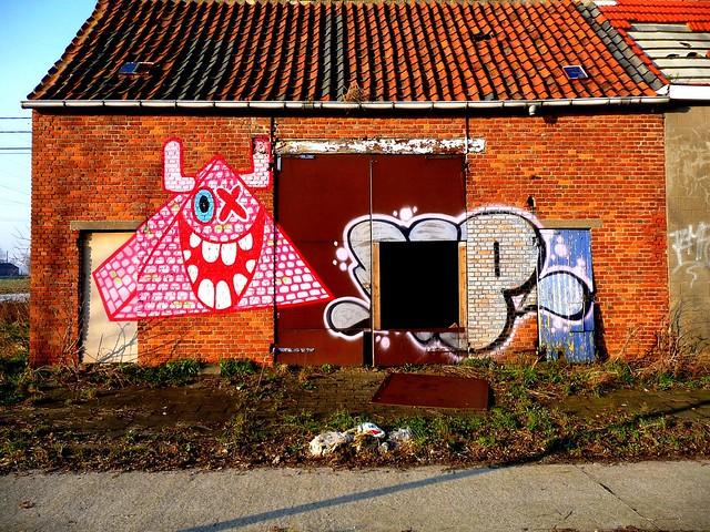graffiti | ox-alien | doel . belgium