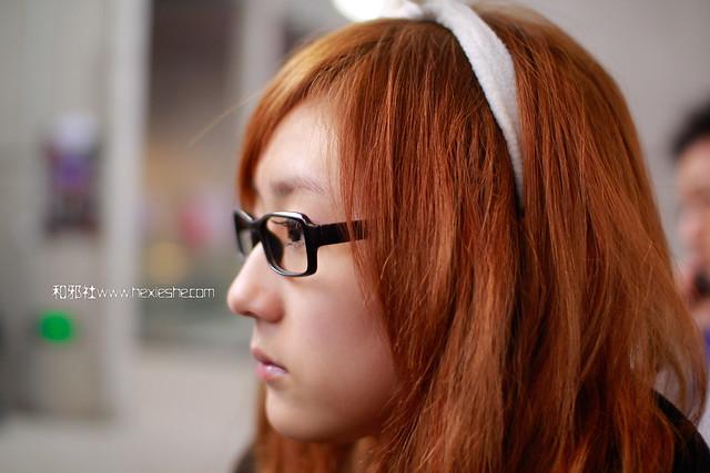 兔年贺岁热身贴-兔耳眼镜娘-星宫动漫