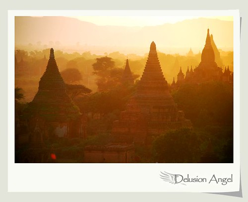 travel sunset pagoda asia burma myanmar bagan discoveryphotos blinkagain
