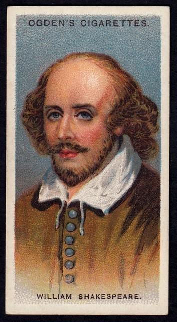 Cigarette Card - William Shakespeare
