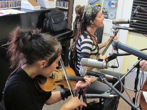 Sisters Leah and Chloe of Rising Appalachia