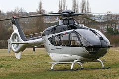 G-HOLM - 2007 build Eurocopter EC135T2+, at the 2010 Cheltenham Festival