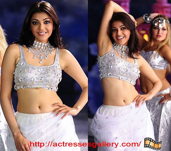 Kajal Agarwal BOLLYWOOD MALLU MASALA ACTRESS Only in Blouse WithOut ...
