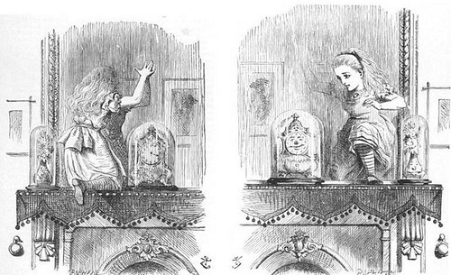 [ T ] John Tenniel - Alice Through the Looking-Glass (1871)