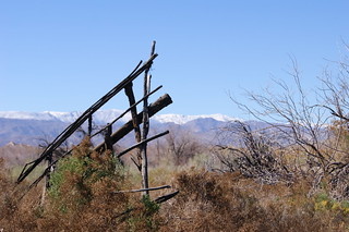 Historical Carrizo Stage Station Remnants, Anza Borrego State Park