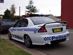 2003 Holden VY Commodore SS - NSW Police