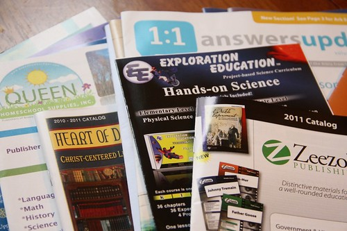 homeschool catalogs