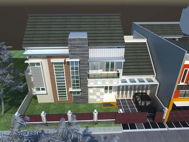 Arsitek Rumah minimalis modern, Gambar Desain Rumah Tropis