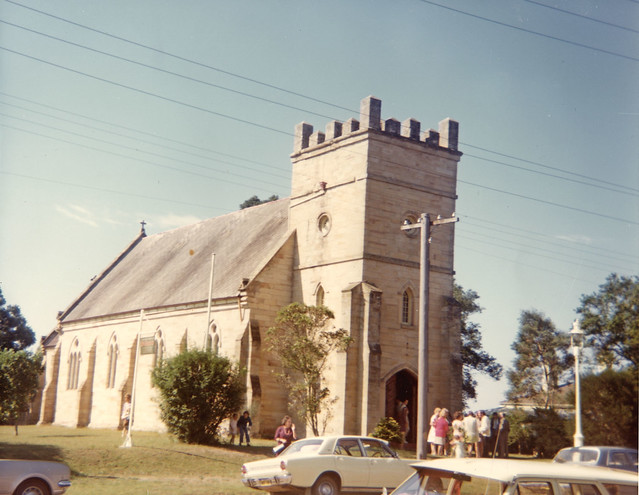Morpeth Australia  city pictures gallery : St. James' Church of England, Morpeth, NSW, Australia [c.1980's ...