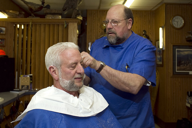 Petes Como Barber Shop Flickr - Photo Sharing!