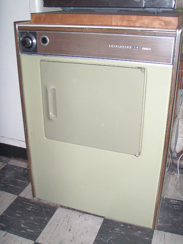 1973 Frigidaire GMini D-24 dryer