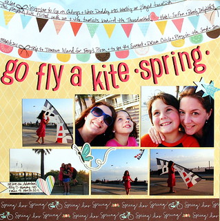 Fly a Kite: Spring / Scrapbooking by Numbers: 6 Photos