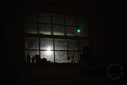 jewel drops of rain