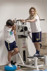 allenamento in palestra asd fima