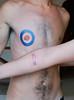 empezando a tatuar! Montañita Ecuador 2011