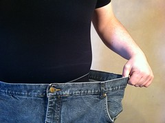 Fat loss, old jeans
