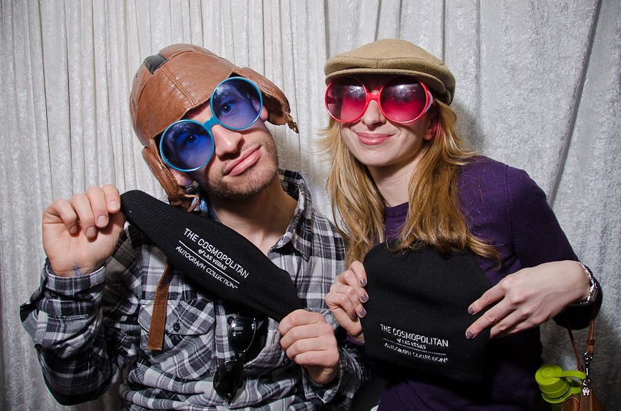 SUNDANCE 2011: Photo Booth Fun Inside The Cosmopolitan Lounge at The Sundance Channel HQ House