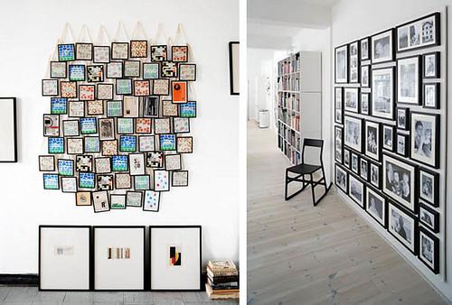 D a de dudas decorar con fotos tr s studio blog de for Decoracion con muchos cuadros