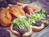 Haute Skillet Juicy Lucy Backyard Pop-Up Dinner by R. E. ~