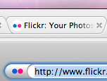 Flickr favicon comparisons