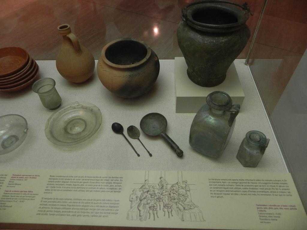 utensilios de cocina romana museo arqueol gico de