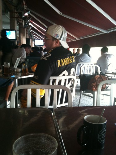 Hard-core Steelers fan