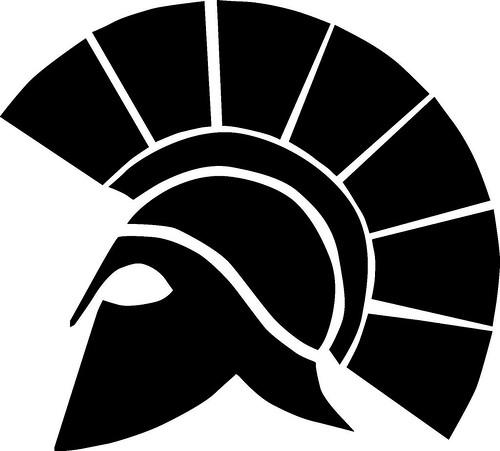 Spartan Logo Blue spar...