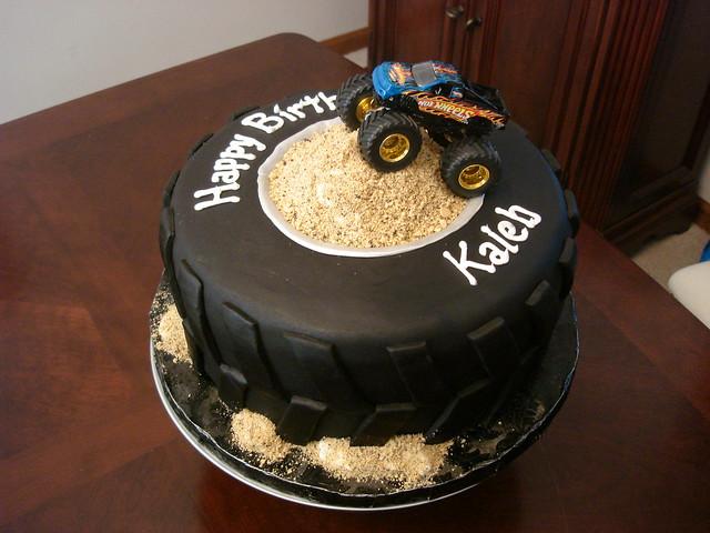 Monster Jam Cake Decorations