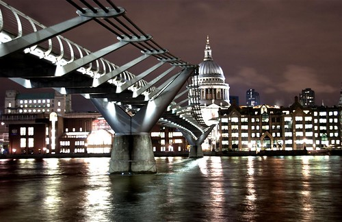 Millennium Bridge. London