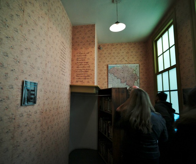Inside Anne Frank's House, Amsterdam | Flickr - Photo Sharing!