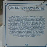 Lynch Office & Bathhouse Marker