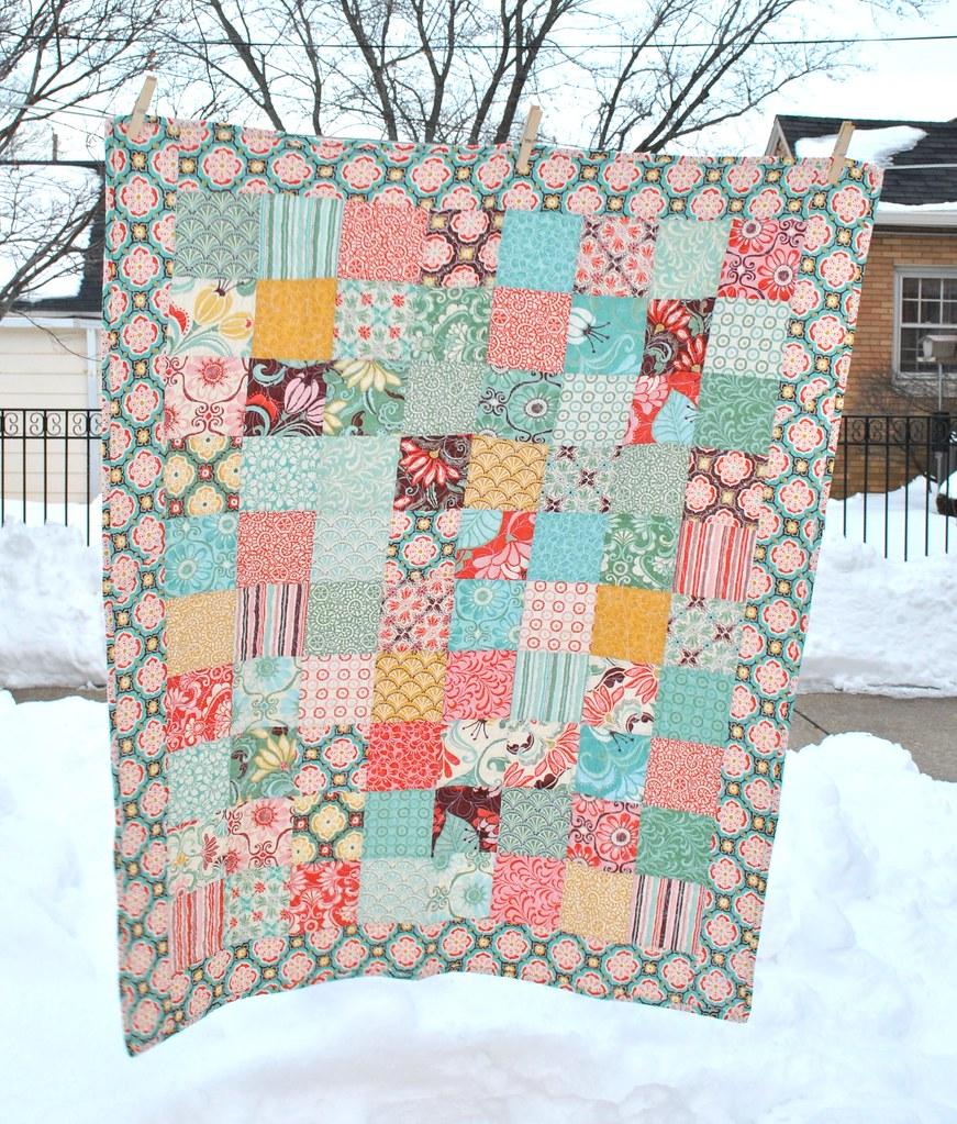 Fandango baby quilt