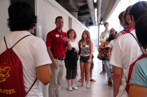 Cyclone Aides can take you on a tour of our college facilities