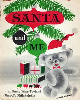 Santa and Me Cover - 1953